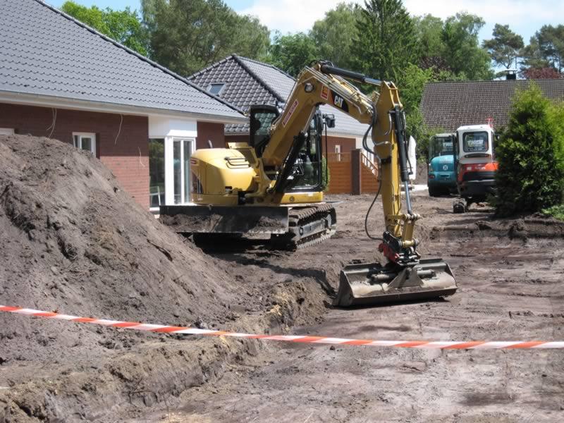 Bagger- und Radladerarbeiten - Thomas Käselau – Garten- und Landschaftsbau – Pflaster-, Erd- und ...